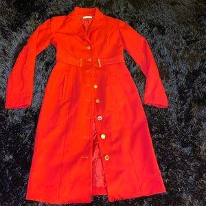 Cute red coat
